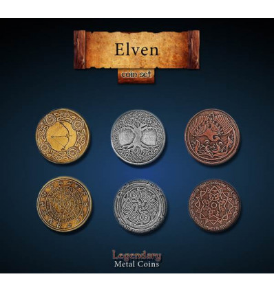 Legendary Coin - Elven - SET
