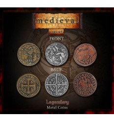 Legendary Coin - Medieval - SET