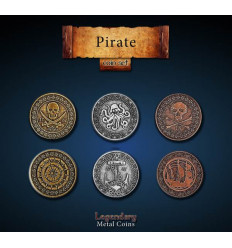 Legendary Coin - Pirate - SET