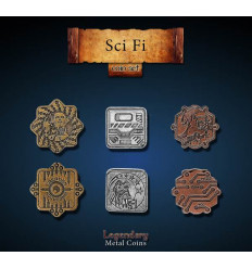 Legendary Coin - Sci-Fi - SET