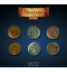 Legendary Coin - Spartan - SET