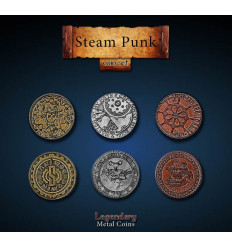 Legendary Coin - Steampunk - SET