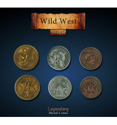Legendary Coin - Wild West - SET