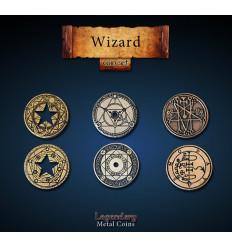 Legendary Coin - Wizard - SET