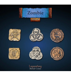 Legendary Coin - Zombie - SET