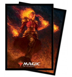 Ultra Pro - Standard Sleeves - MTG - M21 Chandra, Heart of Fire - 100pz (E-18363)
