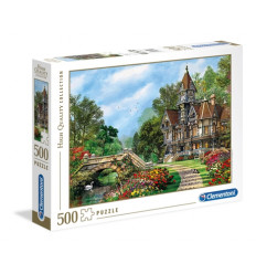 Puzzle 500pz - High Quality Collection - Old Waterway Cottage (35048)