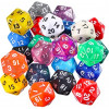 Dado d20 Gigante (34mm) - Colori assortiti