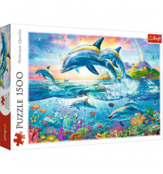 Puzzle 1500pz - Dolphin Family (26162)