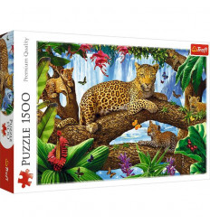 Puzzle 1500pz - Resting Among the Trees (26160)