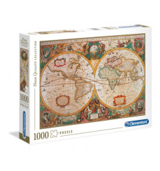 Puzzle 1000pz - High Quality Collection - Old Map (31229)