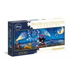 Puzzle 1000pz - High Quality Collection - Panorama - Mickey e Minnie (39449)