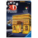 Puzzle 3D - Arco di Trionfo Night Edition (125227)