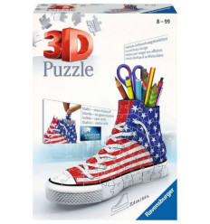 Puzzle 3D - Sneaker - American Style (125494)