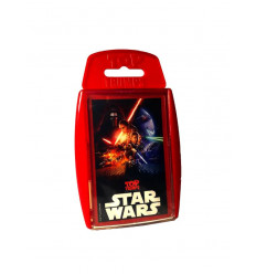 Top Trumps Star Wars Episodio 7 Carte Promo