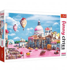 Puzzle 1000pz - Sweets in Venice (10598)