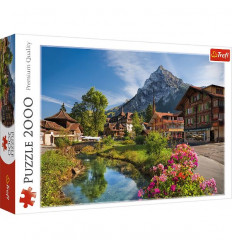 Puzzle 2000pz - Alps in the Summer (27089)