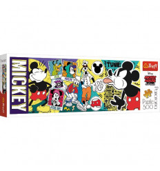 Puzzle 500pz Panorama - The Legendary Mickey Mouse (29511)