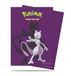 Ultra Pro - Deck Protectors Sleeves - Pokemon - Mewtwo - 65 Pz (E-15394)
