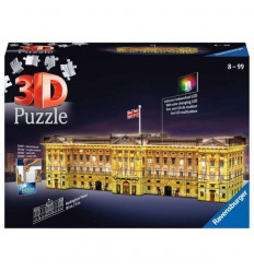 Puzzle 3D - Buckingham Palace Night Edition (125296)