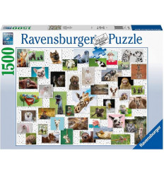 Puzzle 1500pz - Collage di Animali (167111)