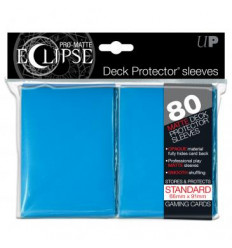 Ultra Pro - Standard Sleeves - PRO-Matte Eclipse - Light Blue (80 Sleeves) (E-85252)