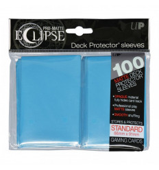 Ultra Pro - Standard Sleeves - PRO-Matte Eclipse - Sky Blue (100 Sleeves) (E-85603)
