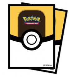 Ultra Pro - Deck Protectors Sleeves - Pokemon - Ultra Ball - 65 Pz (E-85459)