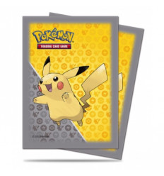 Ultra Pro - Sleeves Standard - Pokemon - Pikachu Grey Design (65 Sleeves) E-84557