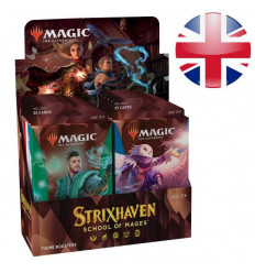 MTG - Strixhaven: School of Mages - THEME BOOSTER DISPLAY (10 Packs) - EN