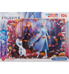 Puzzle 104pz - Brilliant - Frozen 2 (20161)