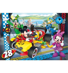 Puzzle 104pz - Mickey Roadster Racers (27984)