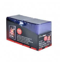 Ultra Pro - Toploader - 3 x 4 Regular Toploaders & Card Sleeves (100 count retail pack) (E-83648)