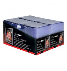 Ultra Pro - Toploader - 3 x 4 Regular Toploaders & Card Sleeves (200 count retail pack) (E-83665)