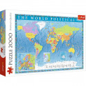 Puzzle 2000pz - Political Map of the World (27099)