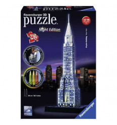 Puzzle 3D - Chrysler Building Night Edition (125951)
