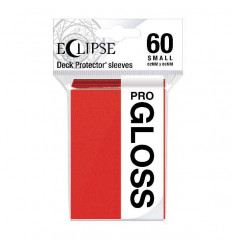 Ultra Pro - Small Sleeves - PRO-Gloss Eclipse - Apple Red (60 Sleeves) (E-15628)