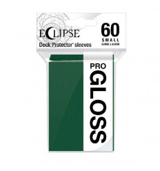 Ultra Pro - Small Sleeves - PRO-Gloss Eclipse - Forest Green (60 Sleeves) (E-15629)
