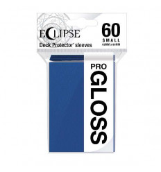 Ultra Pro - Small Sleeves - PRO-Gloss Eclipse - Pacific Blue (60 Sleeves) (E-15626)