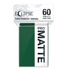 Ultra Pro - Small Sleeves - PRO-Matte Eclipse - Forest Green (60 Sleeves) (E-15641)
