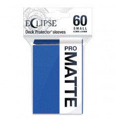 Ultra Pro - Small Sleeves - PRO-Matte Eclipse - Pacific Blue (60 Sleeves) (E-15638)