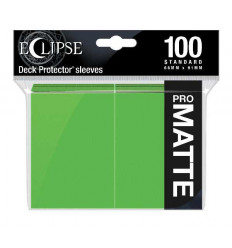 Ultra Pro - Standard Sleeves - PRO-Matte Eclipse - Lime Green (100 Sleeves) (E-15618)