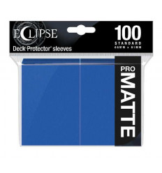Ultra Pro - Standard Sleeves - PRO-Matte Eclipse - Pacific Blue (100 Sleeves) (E-15614)
