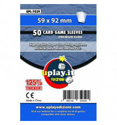 Bustine Protettive Premium EURO Uplay (59 x 92 mm) (50pz) - UPL 7029