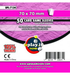Bustine Protettive Premium Square Uplay (70 x 70 mm) (50pz) - UPL 7134