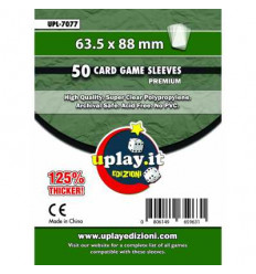 Bustine Protettive Premium Uplay (63.5 x 88 mm) (50pz) - UPL 7077