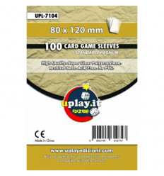 Bustine Protettive Standard Magnum Uplay (80 x 120 mm) (100pz)