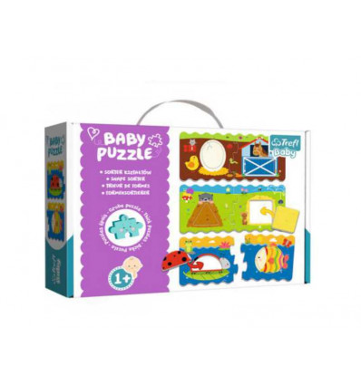 Puzzle - Baby Classic - Shape Sorter (36078)