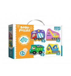 Puzzle - Baby Classic - Wheicles on the Costruction Site (36072)