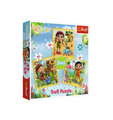 Puzzle 3 in 1 - Collective Journey (34834)